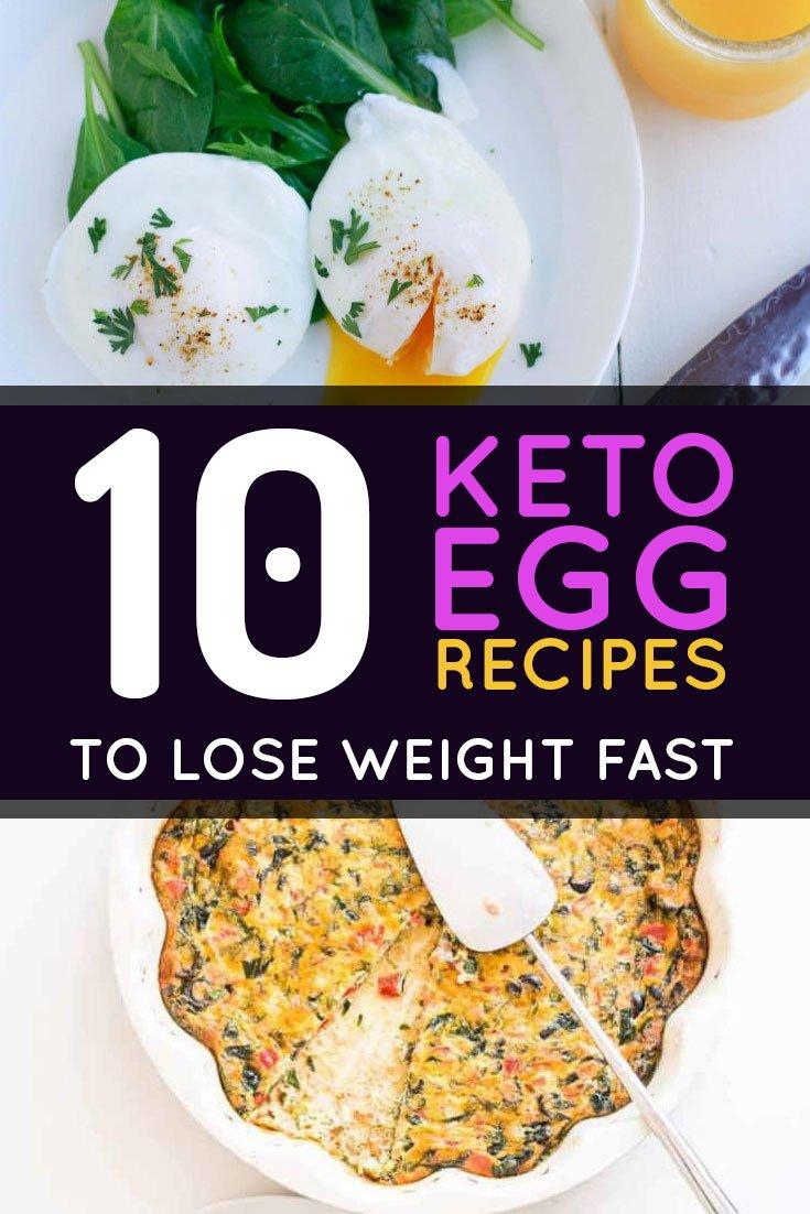 10 Keto Egg Recipes To Lose Fat
