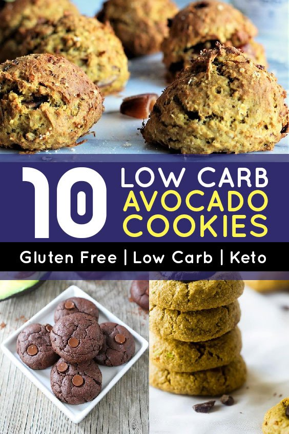 10 Low Carb Avocado Cookies