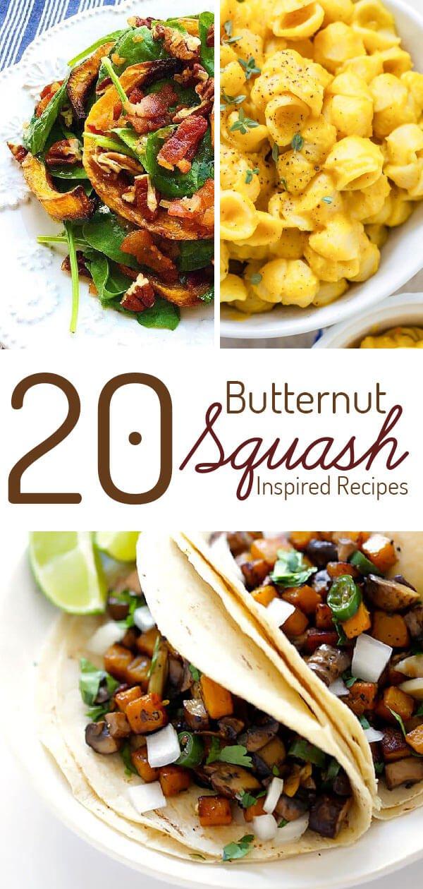 20 Healthy Butternut Squash Recipes