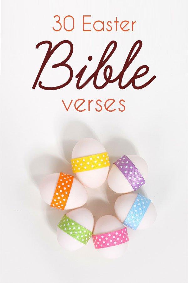 30 Easter Bible Verses