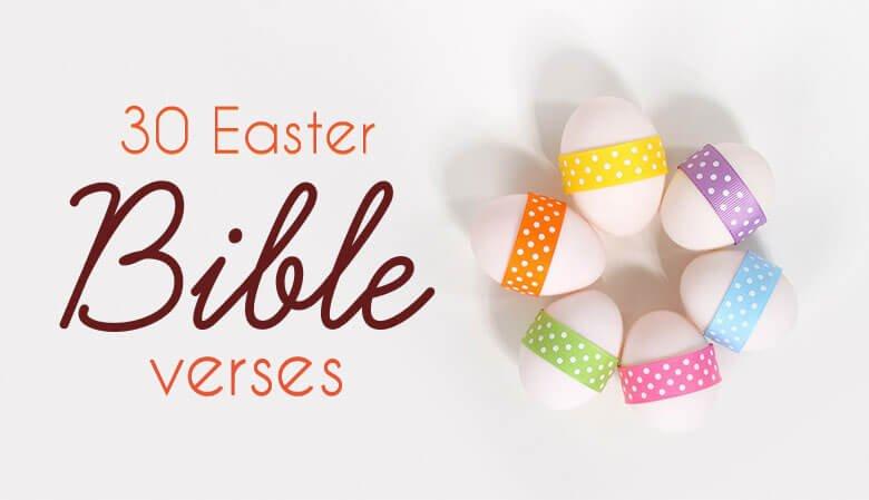 Top Easter bible verses