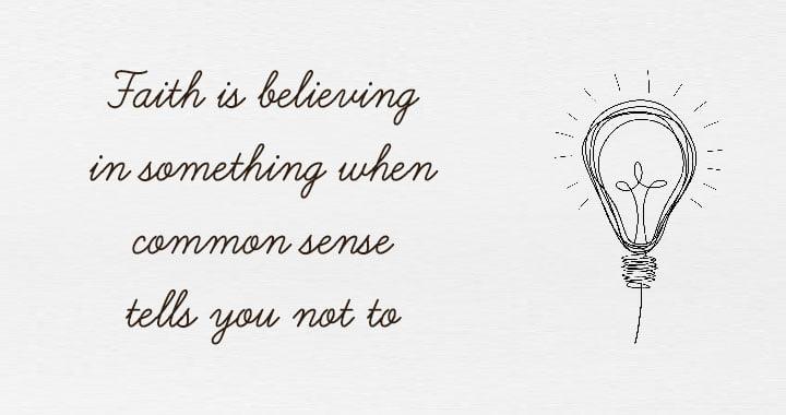 Faith Motivational Quote