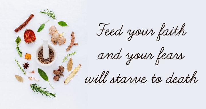Faith Quote Recipe