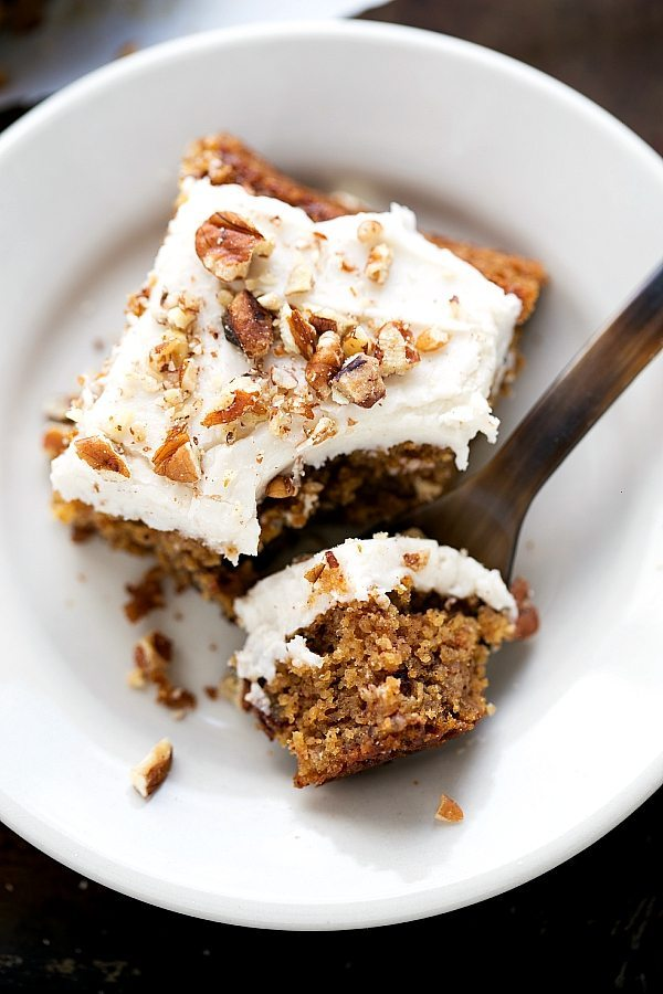 Flourless Applesauce Spice Cake