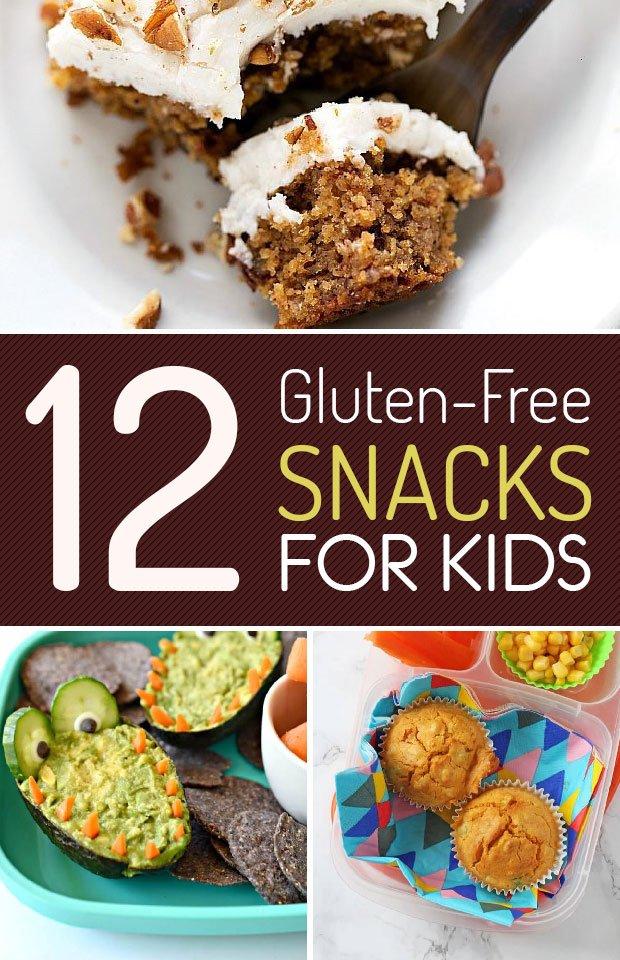 12 Gluten Free Snacks for Kids