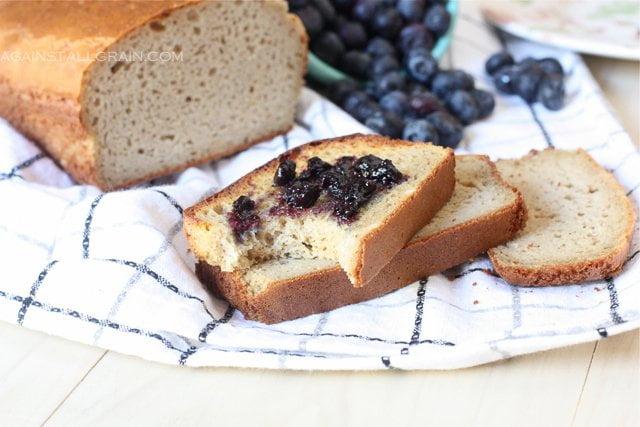 Grain Free Paleo Sandwich Bread