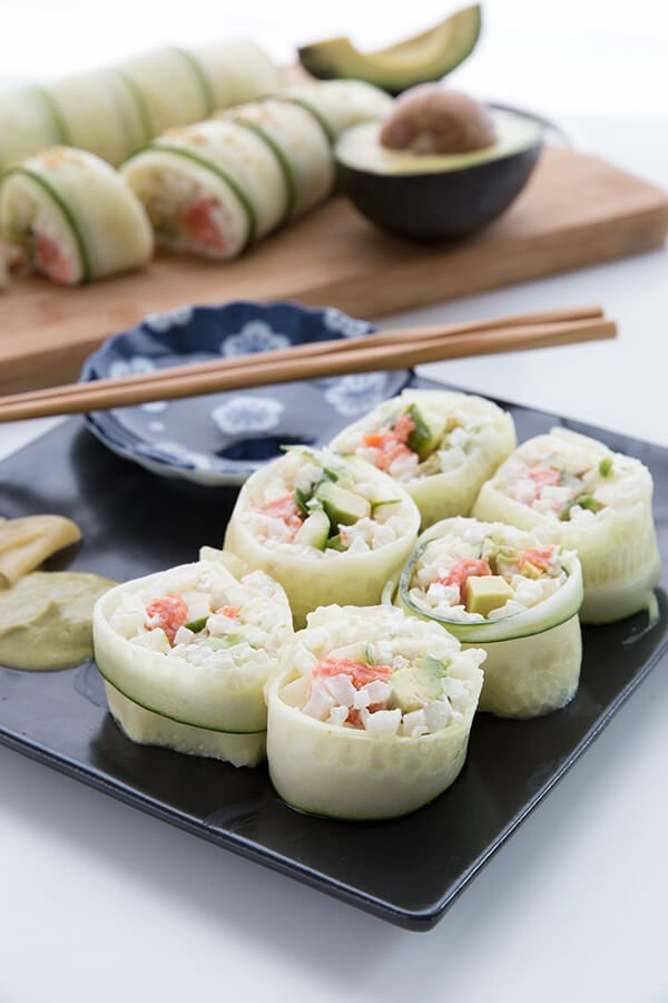 Keto Sushi - California Rolls