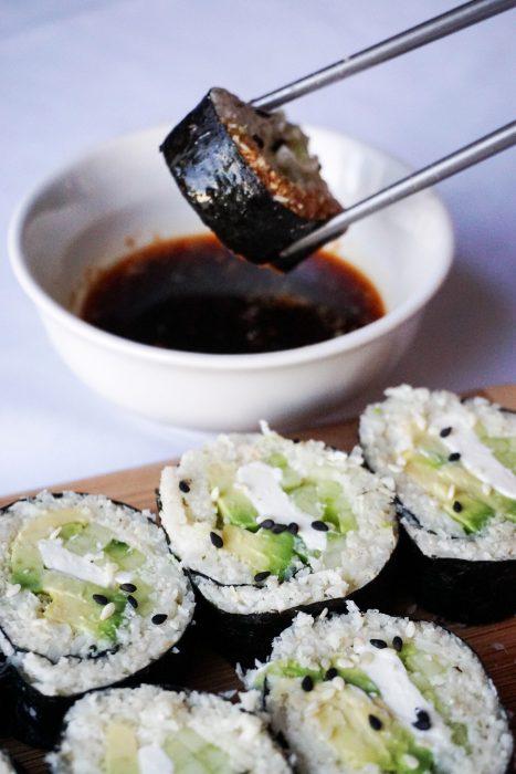 Ketogenic Sushi Rolls