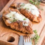 Low Carb Baked Chicken Parmesan