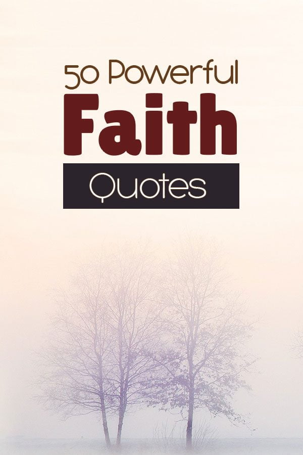 Power Faith Quotes