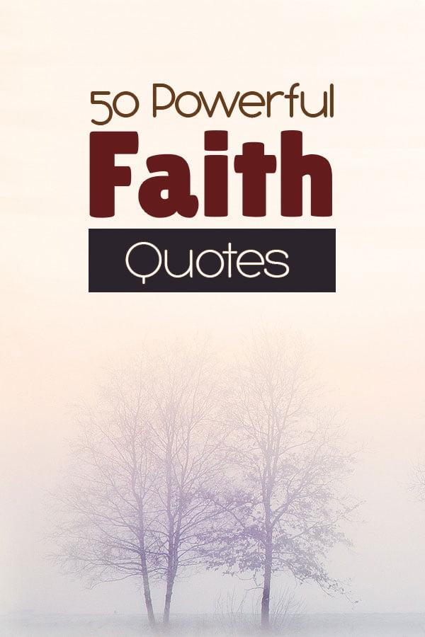 Power Faith Quotes