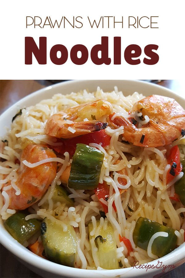 Prawns with Rice Noodles