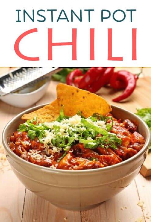 Quick instant pot chil recipe
