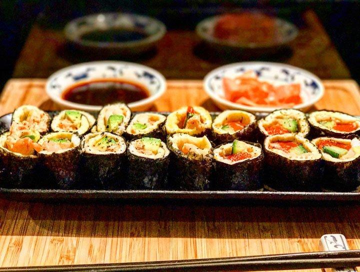Rice Free Keto Sushi