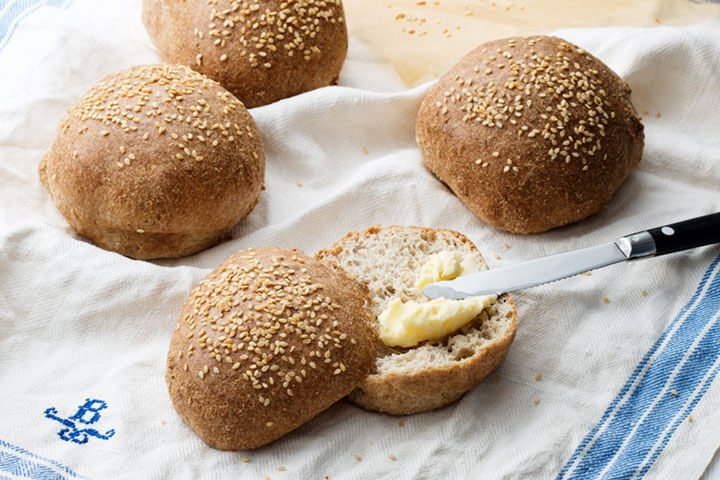 The Keto Bread for buns and rolls