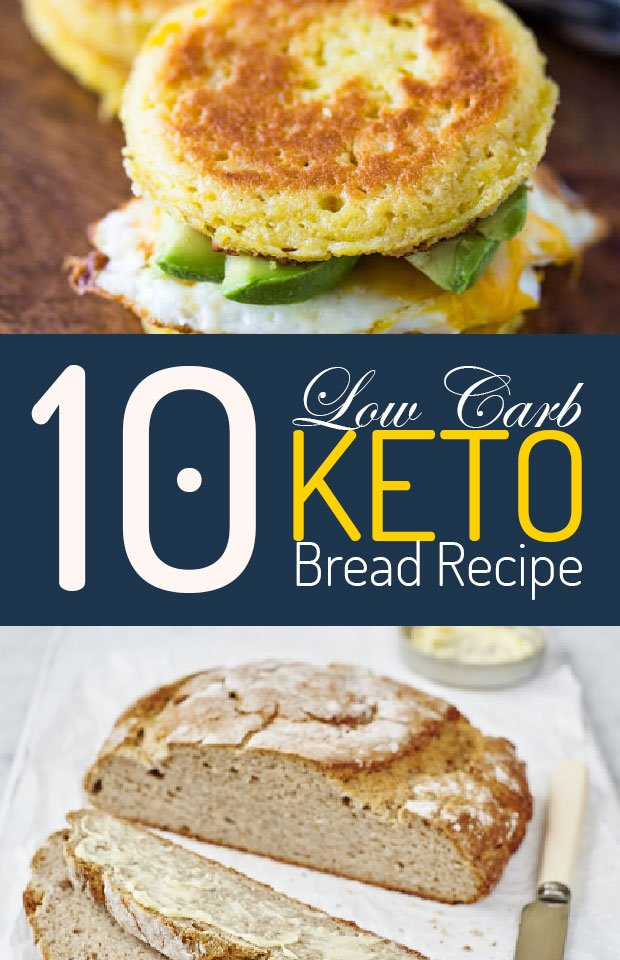 10 Keto Bread Recipes For Sandwiches And Toast
