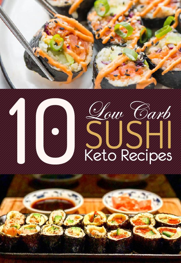 low carb keto sushi recipes