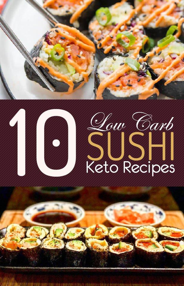 low carb keto sushi recipes