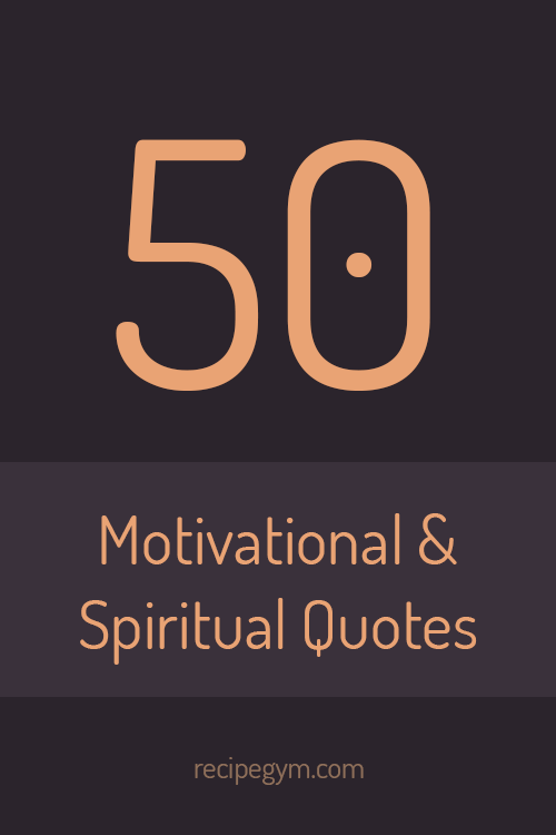 Motivational & Spiritual Quotes for Fitness