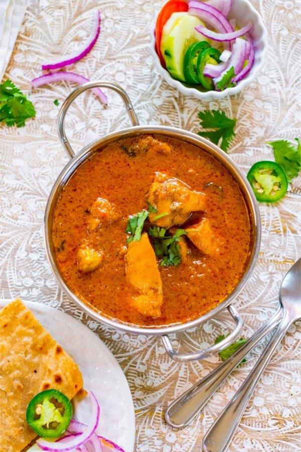 Gluten Free Yogurt Chicken Curry
