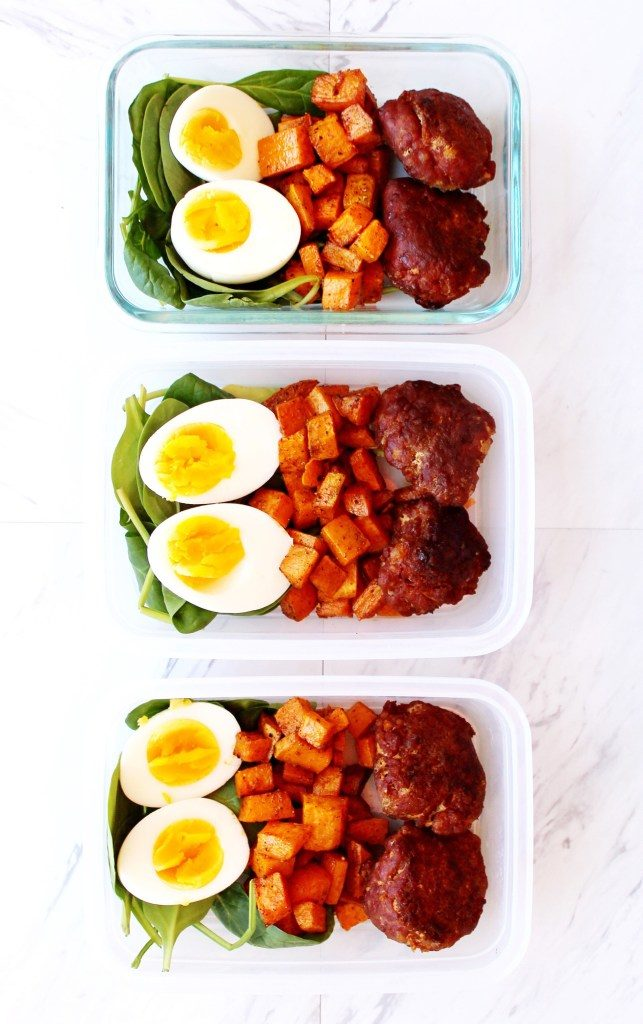 Meal prep breakfast bowls (Whole 30)