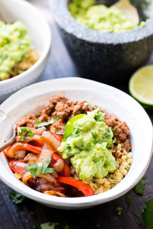 Paleo Burrito Bowls