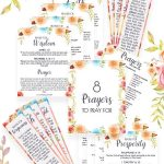 8 Printable prayers cover