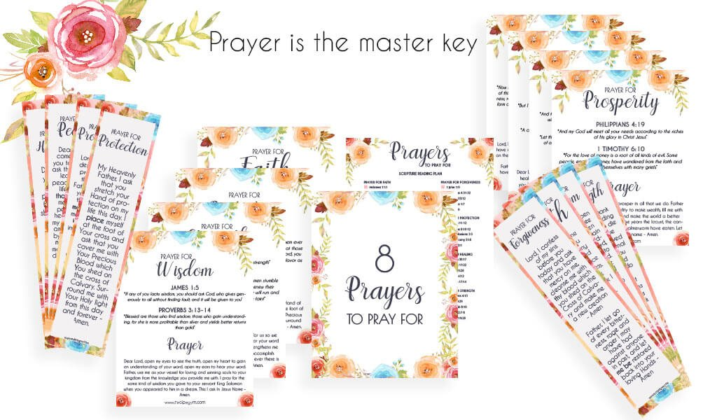 Prayer is the master key