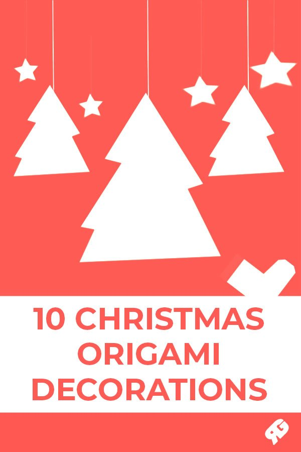 10 Christmas Origami Decorations