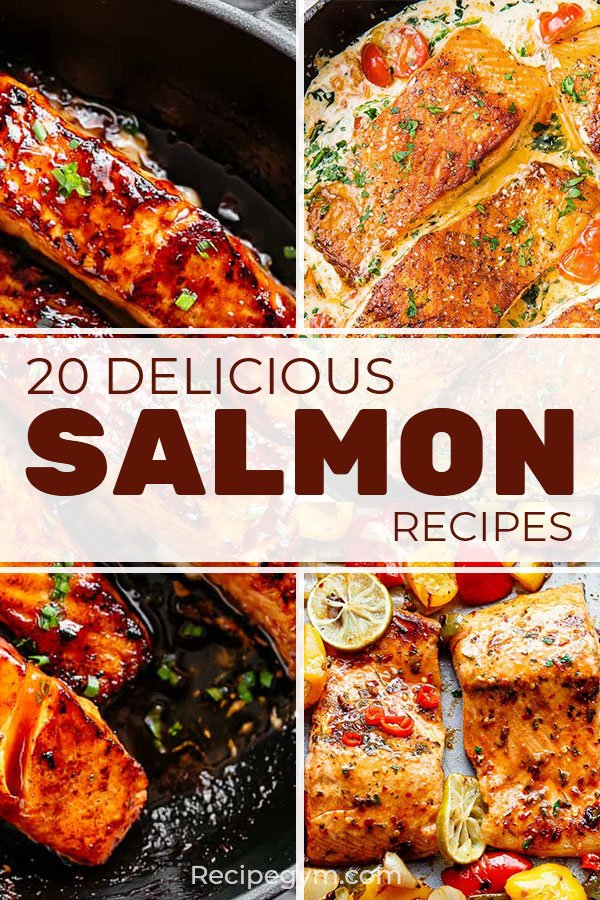 20 Scrumptious Salmon Recipes