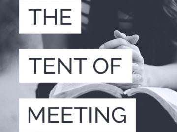 The tent of meeting