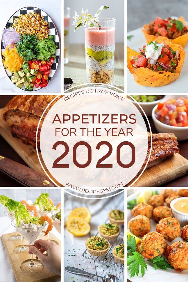 appetizers for the year 2020