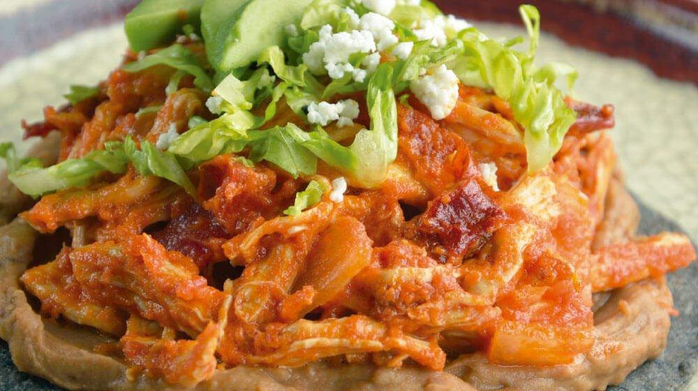 Tostadas De Tinga Easy Mexican Chicken Recipe