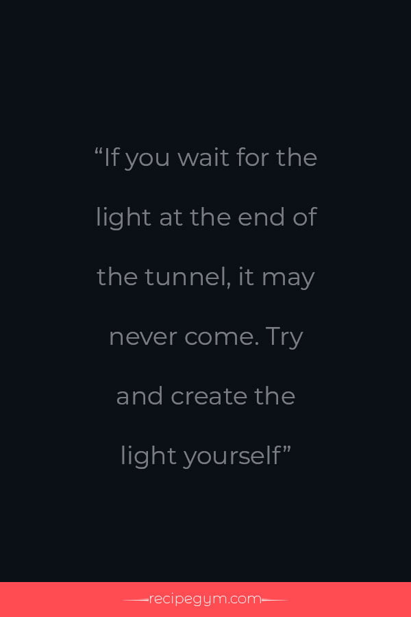 Be the light quote