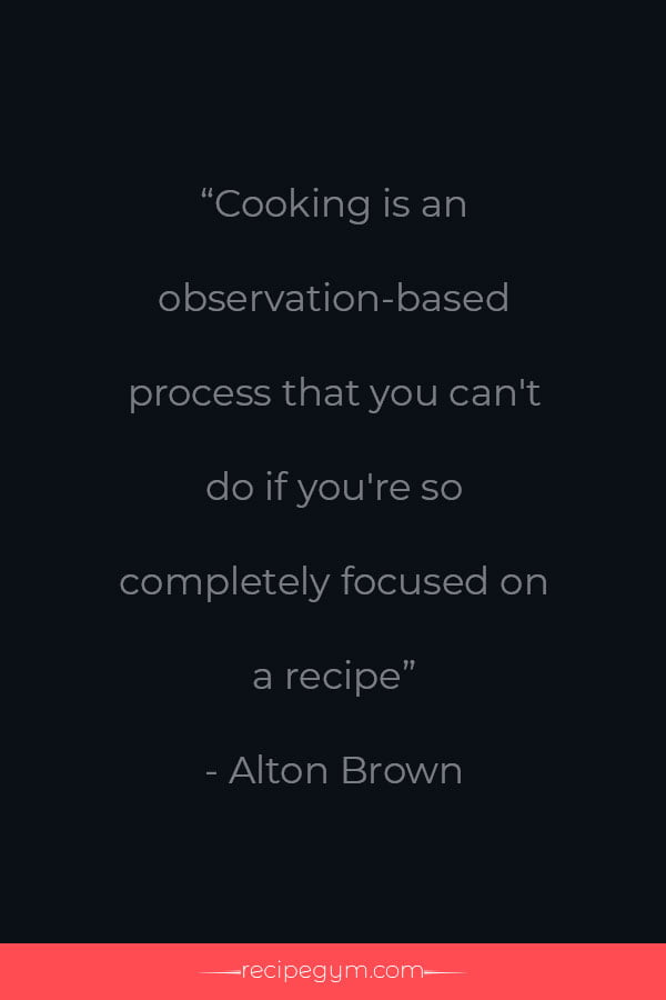 Best chef quote