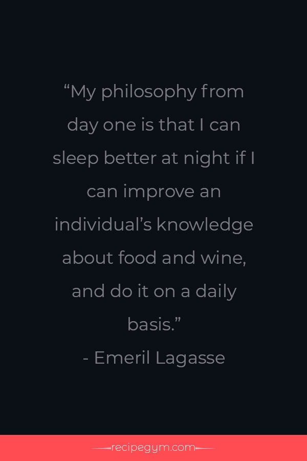 Chef Quotes of The Day