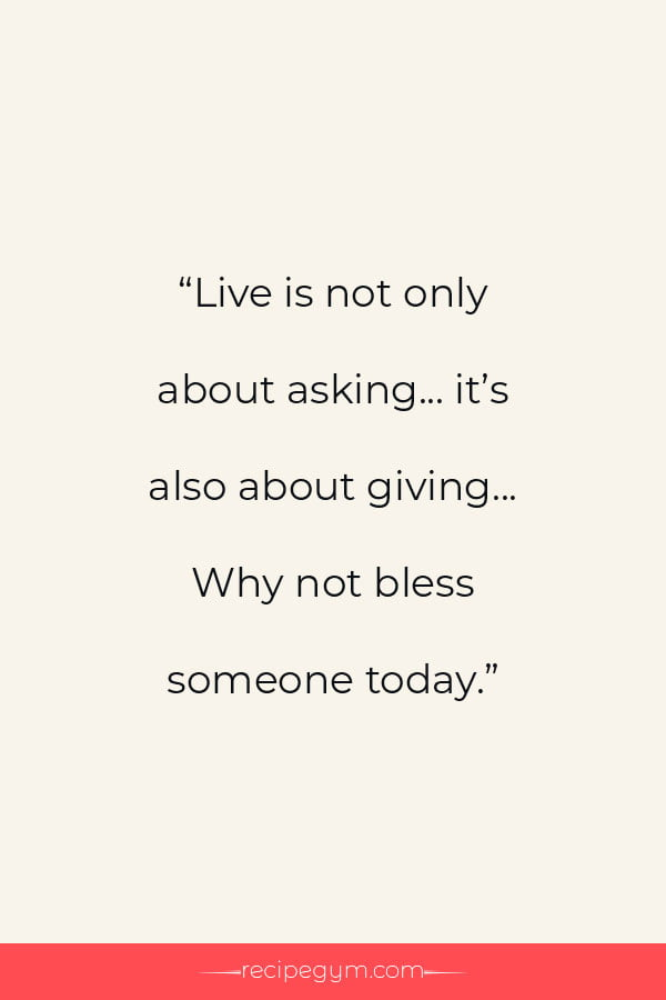 Quote about blessing someone