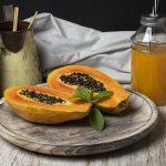 Papaya Juice with Lemon and Ginger