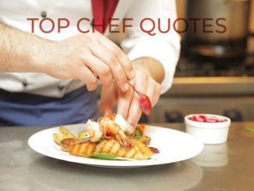 top celebrity chef quotes