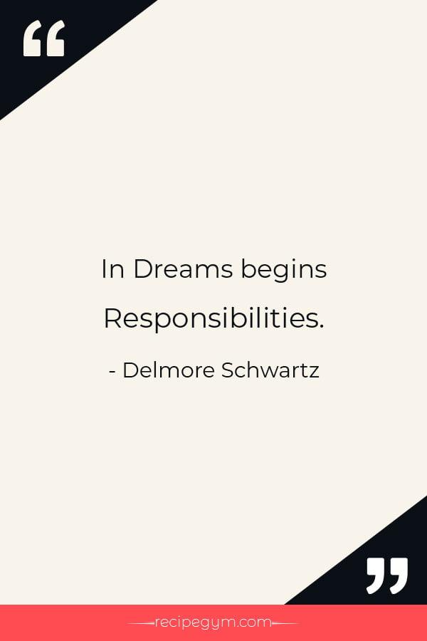 In Dreams Begins Responsibilities
