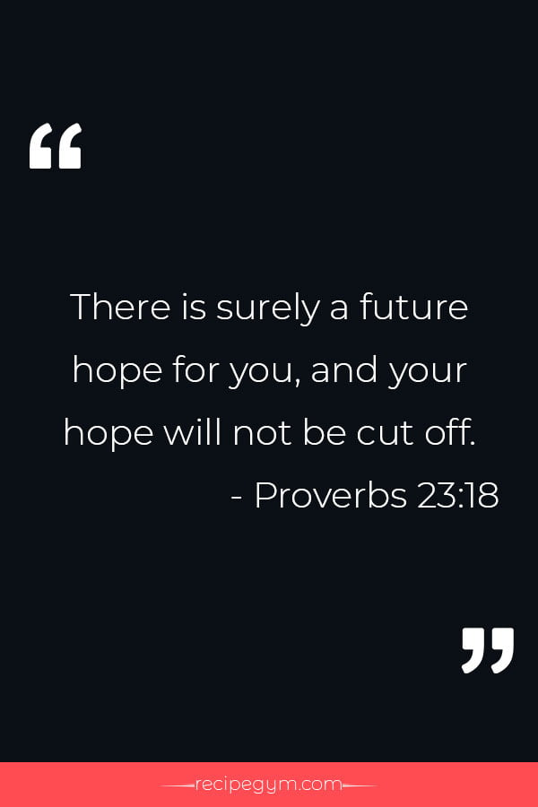 Bible Verses About Hope