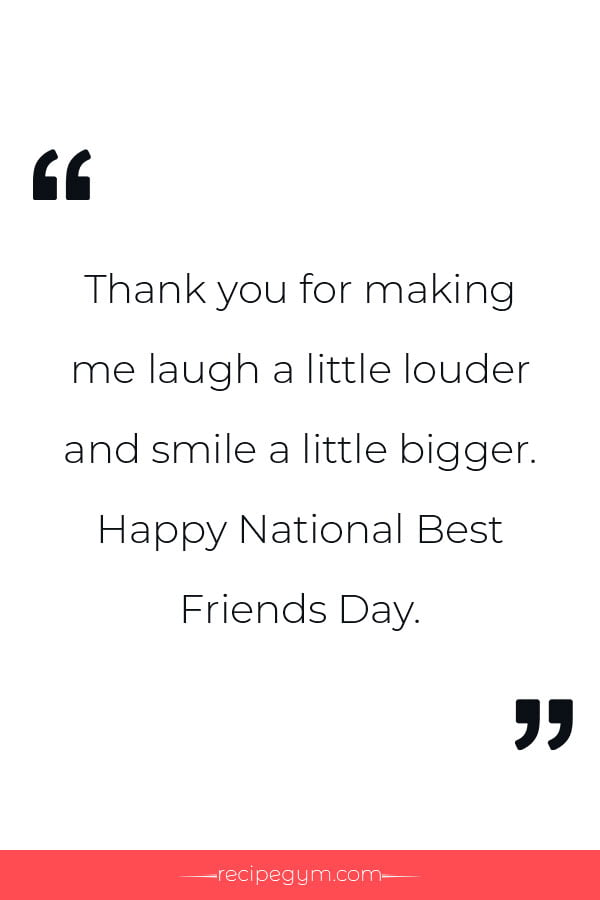 National Best Friends Day Quotes