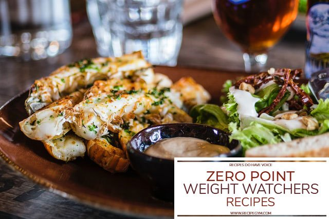 Zero Point Weight Watchers Recipes