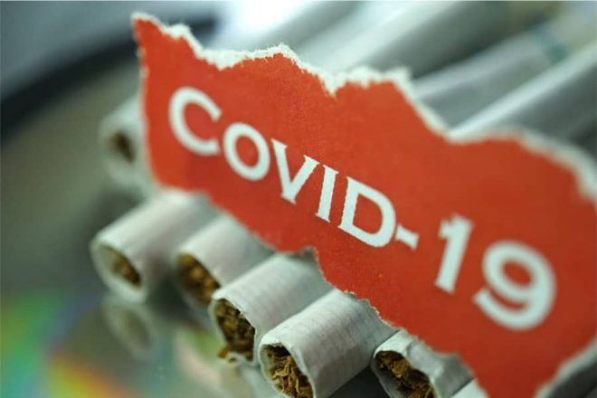 Are smokers at risk for the coronavirus disease