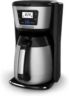 BLACKDECKER Cup Thermal Programmable Coffeemaker