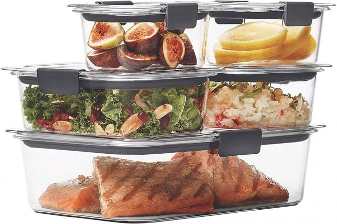 Rubbermaid FreshWorks Containers