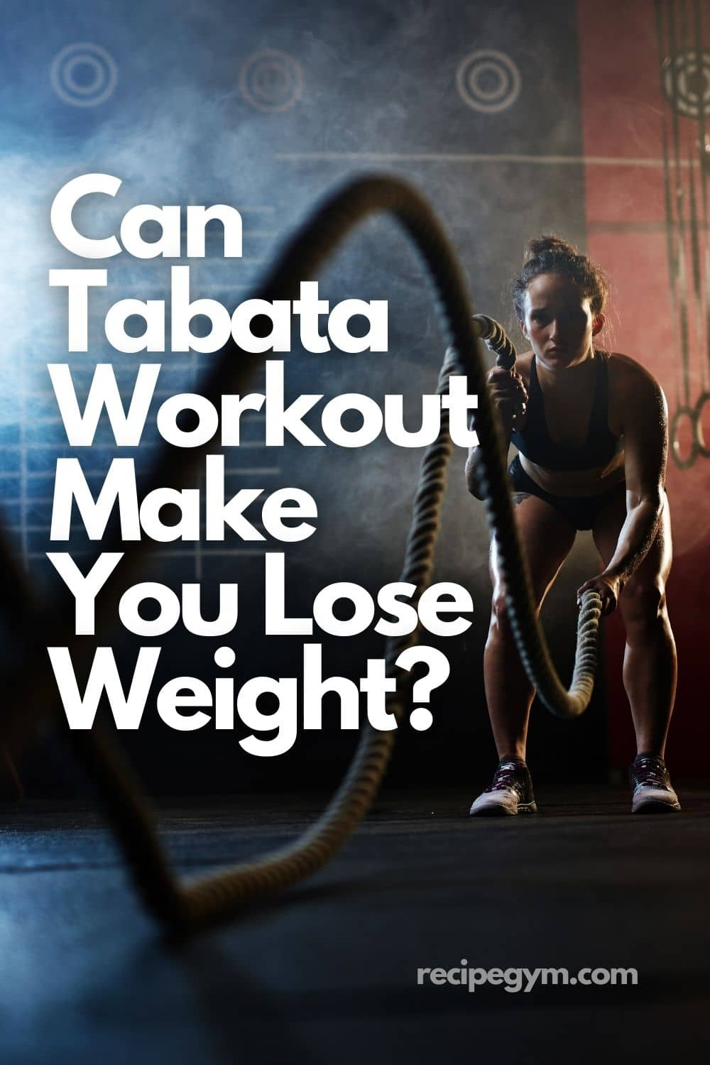 Can Tabata Workout Make You Lose Weight pin it