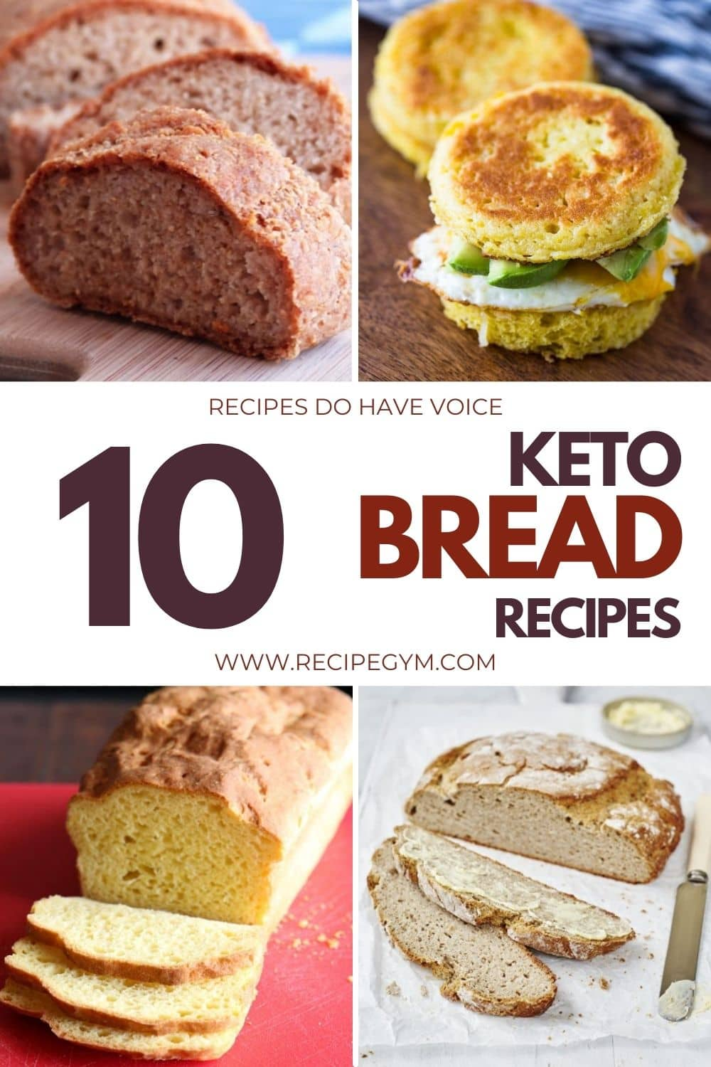 10 delicious keto bread recipes for sandwiches and toast | faith fitness food