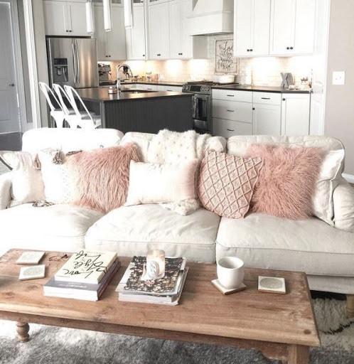 50+ Beautiful Living Room Home Decor 70