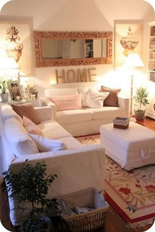 50+ Beautiful Living Room Home Decor 22